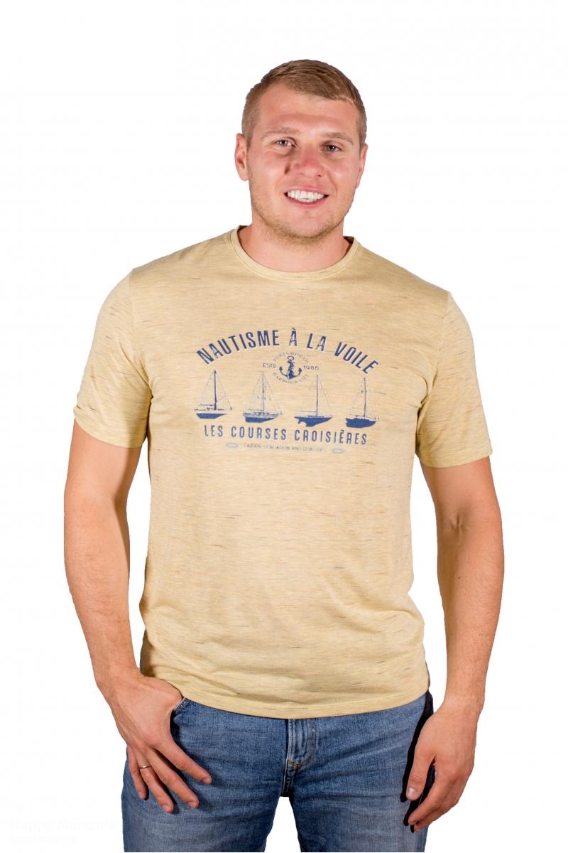 Vīriešu T-krekls ar apdruku