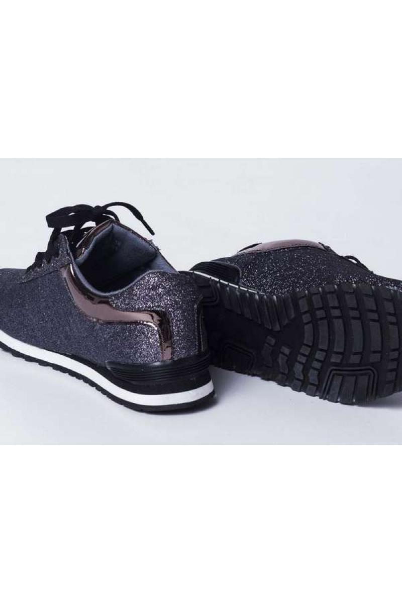 Sieviešu ikdienas apavi ar gliteri